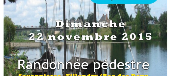 Balade pédestre dimanche 22 Novembre