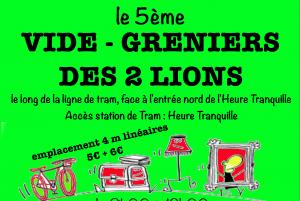 5eme vide-grenier des 2 Lions @ Rambla - Centre commercial Heure Tranquille | Tours | Centre-Val de Loire | France