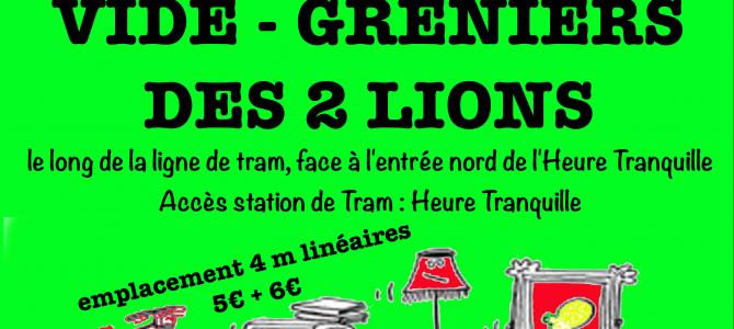 5 ème vide-greniers des 2 Lions
